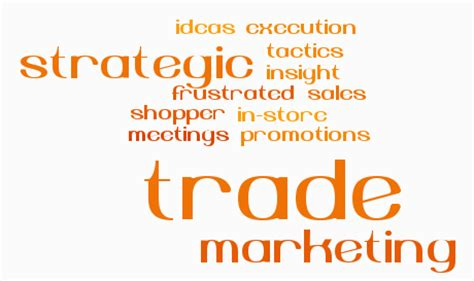 trade marketing description how to make trade marketing more strategic part one