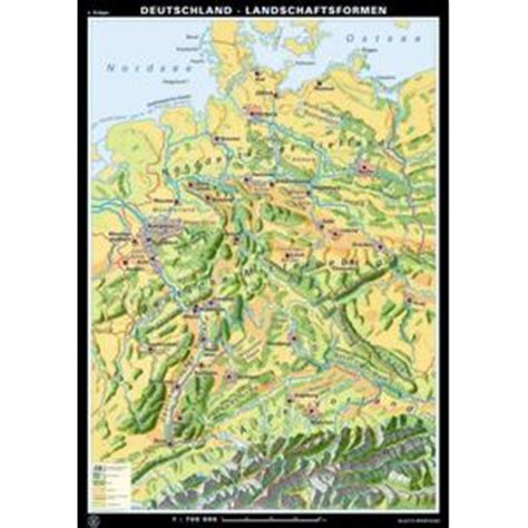 gebirgskarte deutschland germany landscape map www pixshark images