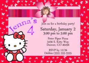 hello birthday invitation kustom kreations