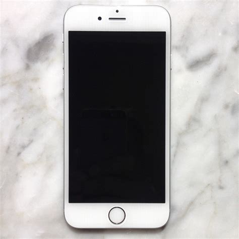How To Search Email On Iphone 6 White Iphone 6 On Marble