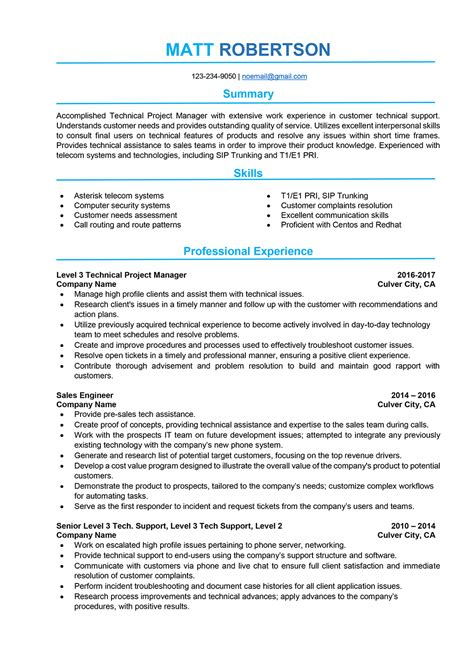 project coordinator resume futuristic template canada software