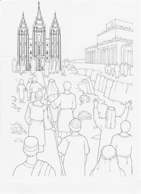 lds coloring pages lehi 48 best images about primary coloring pages on pinterest