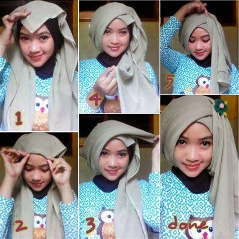 tutorial hijab segitiga untuk ibu ibu tutorial hijab segitiga pashmina untuk wanita aktif