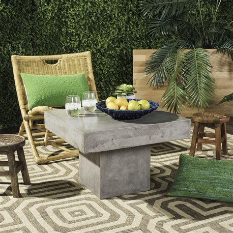 vnn1016a patio tables furniture by safavieh