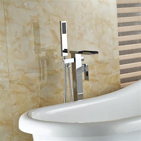 free standing bathtub faucet wholesale and reatil free standing tub faucet chrome brass