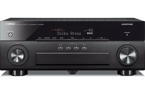 brand  yamaha aventage rx   channel home theater