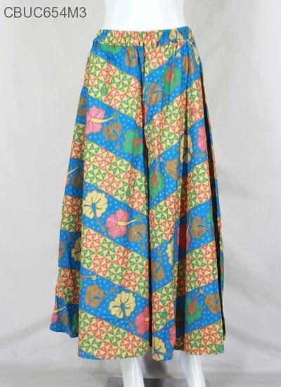 Kulot Motif Bunga Bahan Katun celana kulot motif bunga baris celana murah batikunik