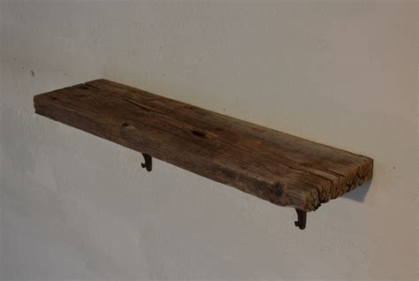 rustic wood wall shelf barnwood 27 x 7 x 7 outstanding
