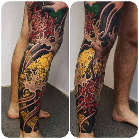 japanese leg tattoo designs leg images designs