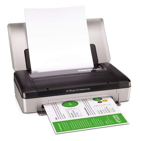 bluetooth mobile printer hp officejet 100 mobile printer with bluetooth