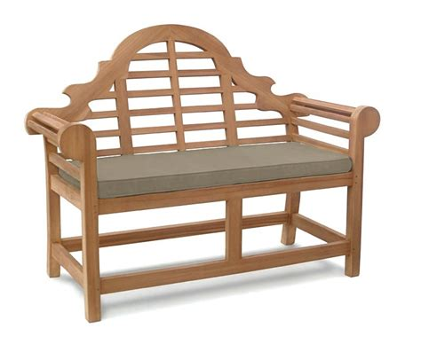 small cushioned bench lutyens bench cushion small