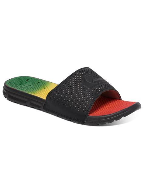 quiksilver sandals quiksilver horizon slide sandals aqyl100201 ebay