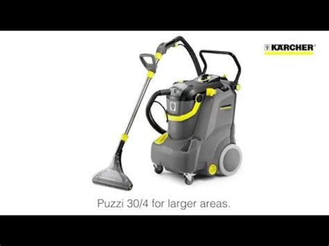karcher upholstery cleaner karcher puzzi 10 1 upholstery and carpet cleaner youtube
