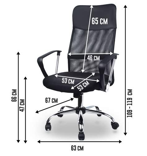 air siege plus air plus noir fauteuil de bureau si 232 ge pivotant chaise en