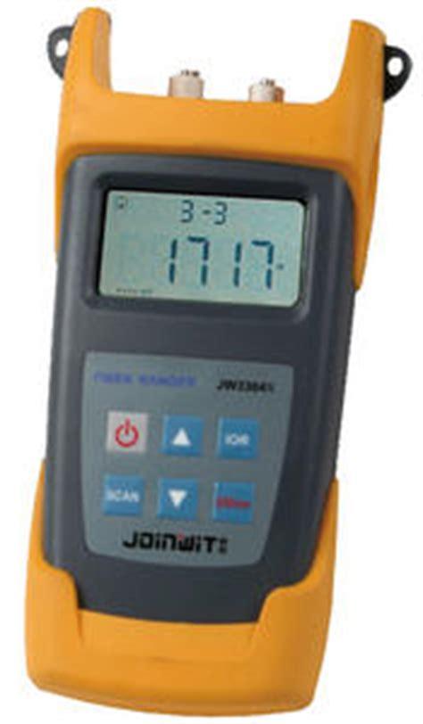 Otdr Fiber Ranger Joinwit Jw 3304n joinwit jw3304n optical fiber ranger measuretronix ltd