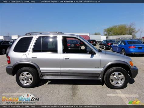 2002 kia sportage 4x4 silver gray photo 7 dealerrevs