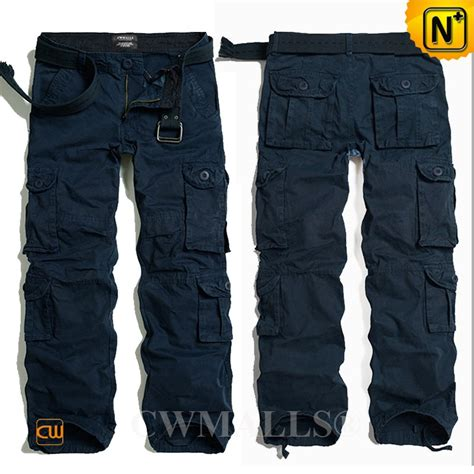 Cargo Navy multi pockets navy blue cargo for cw100013