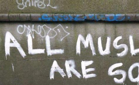 altered  racist dublin graffiti