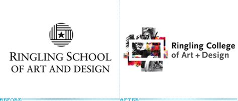 ringling college of art design ringling college of art ringling college of art and design logo before after