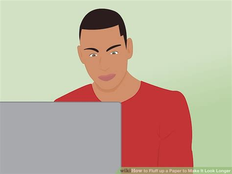 Ways To Make A Paper Longer - 3 ways to fluff up a paper to make it look longer wikihow