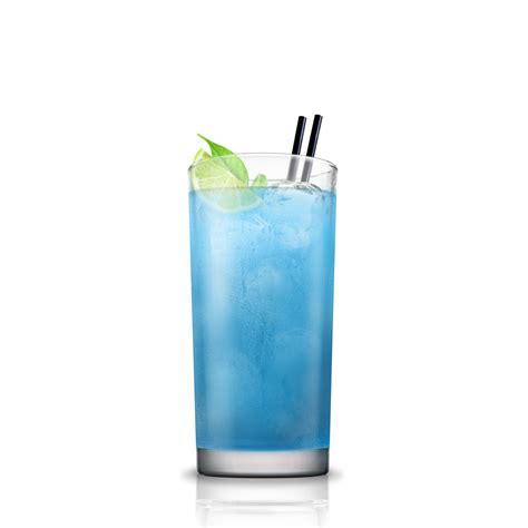 blue kamikaze cocktail flow