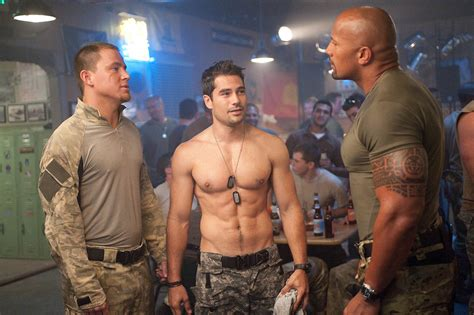 foto dwayne johnson y channing tatum en g i joe 2 la