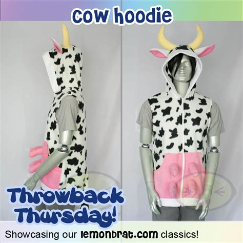 Set Hoody Kaos Welcome Cow throwback thursday cow hoodie lemonbrat