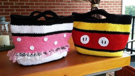 Sandal Minnie Tote Bag Mickey mickey and minnie mouse crochet patterns the best ideas