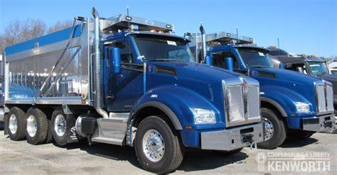 kw trucks for sale kenworth dump trucks for sale coopersburg liberty kenworth