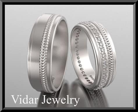 matching wedding bands vidar jewelry unique