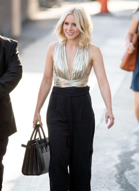 Style Kristen Bell Fabsugar Want Need by Kristen Bell Leather Tote Fashion Lookbook Stylebistro