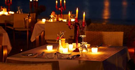 candle light dinner ideas here s where to a candle light dinner in