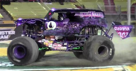 purple grave digger truck grave digger the undertaker edition by maniac1075 on