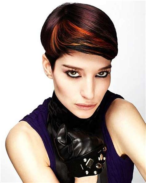 hairstyles colored bangs 20 short hair color trends 2014 short hairstyles 2017