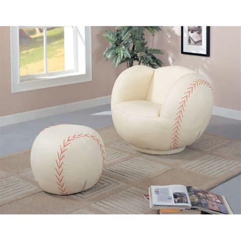 baseball chair and ottoman how to children baseball chair and ottoman shopping