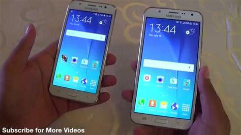 Samsung J7 And J5 samsung galaxy j7 vs galaxy j5 comparison