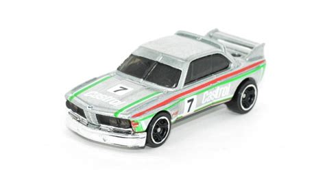 Hotwheels 73 Bmw 3 0 Csl Race Car C 461 wheels zamac castrol 73 bmw 3 0 csl race car cars