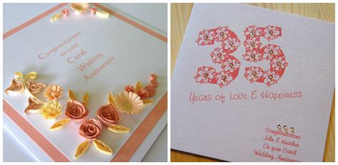 Handmade Anniversary Cards For Parents - handmade happy anniversary cards for parents www