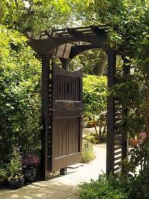 Garden Doors Garden Entrance Design Ideas Home Designs Wallpapers
