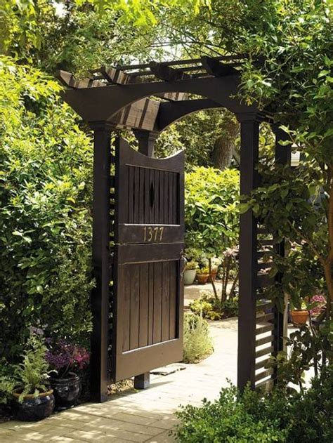 Garden Entrance Ideas Garden Entrance Design Idea The Interior Design Inspiration Board
