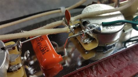 capacitor value telecaster ultimate twang tele wiring harness w 3 way switching hoagland custom