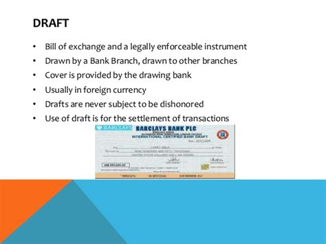 Letter Of Credit Draft Letter Of Credit