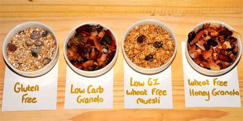 Granola Oatmeal Sarapan Sehat makanan sehat archives