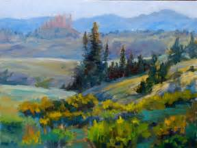 Landscape Paintings Of Illusion West Ii Colorful Colorado