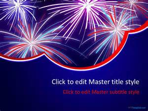 firework template free celebration powerpoint templates