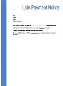 late payment notice free printable documents