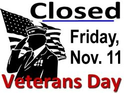 Are Post Offices Closed On Veterans Day by The Ashland Library Will Friday November 12 For