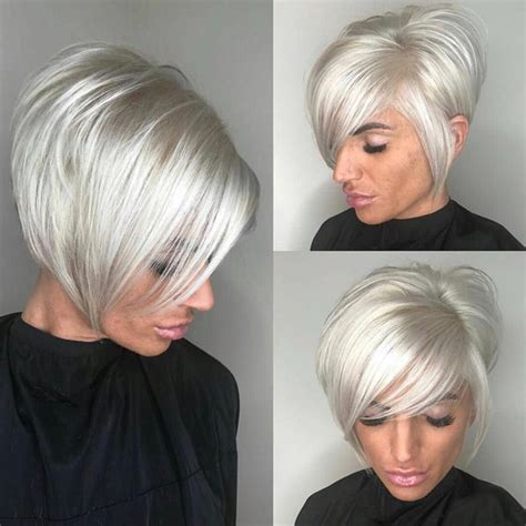platinum blonde bob hairstyles pictures platinum blonde bob behindthechair com
