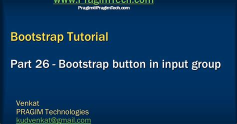tutorial bootstrap framework sql server net and c video tutorial bootstrap button