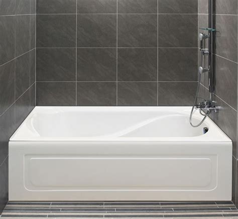 alcove bathtub installation 5 foot alcove tub whirlpool air soaking bathtub